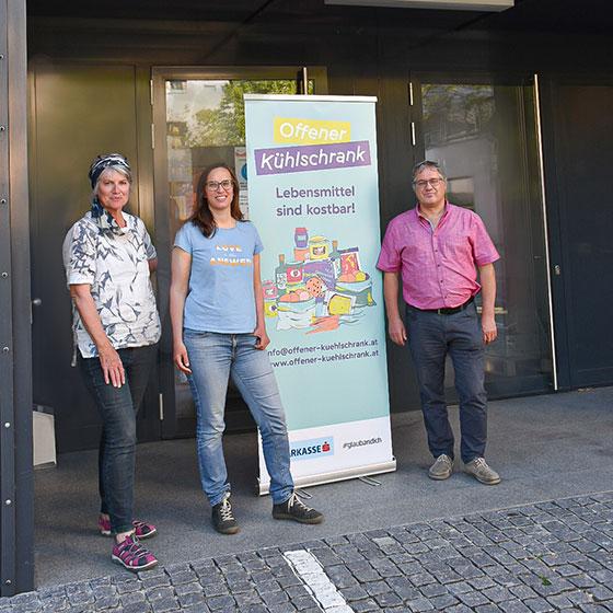 Foto von Gemeinde Lochau v.l.n.r. Alma Nußbaumer, Elisabeth Simma, Jürgen Buelacher